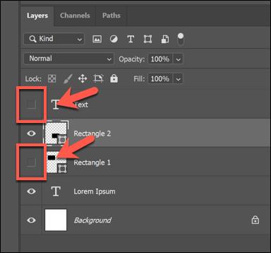 ادغام لایه ها یا Merg Layers در فتوشاپ
