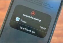 اشتراک گذاری صفحه نمایش آیفون و اندروید با اسکایپ