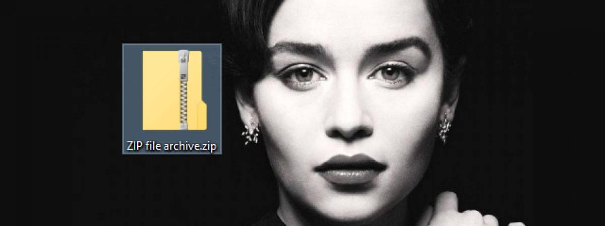 روش Zip و Unzip فایل در ویندوز 10 و افزودن یا کم کردن فایل های آنها