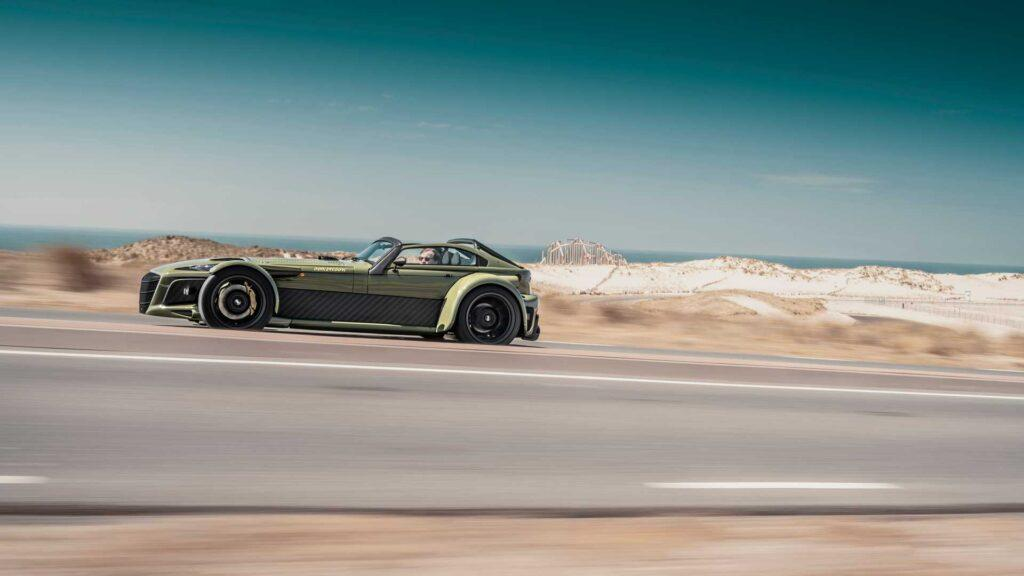 Donkervoort D8 GTO-JD70 is the World's First 2G Supercar