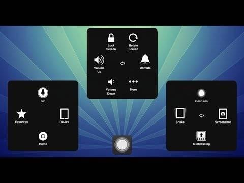 روش اسکرین شات گرفتن آیفون 11 با استفاده ازشیوه های متفاوت |تنظیم منوی دکمه Assistive Touch