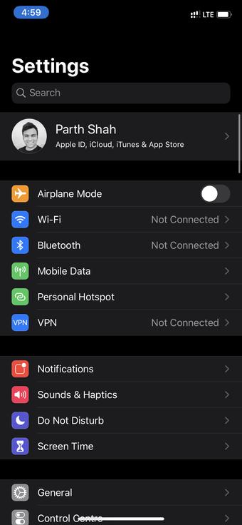 بررسی مقدار فضای ذخیره سازی iCloud در آیفون