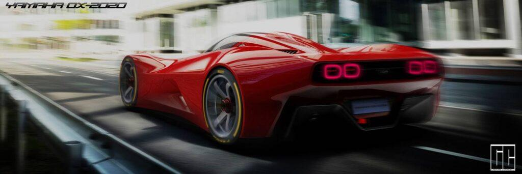 If Yamaha Made a Modern Supercar, it Might Look Like the OX-2020