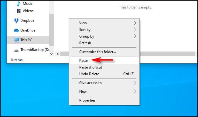 چگونه فایل های خود را در فلش مموری USB کپی و پیست کنیم؟