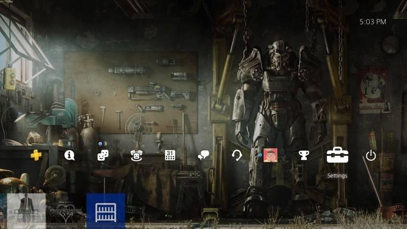 پاک کردن بازی PS4 از منوی Storage