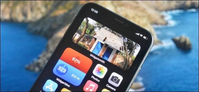 افزودن عکس به صفحه اصلی آیفون در iOS 14 با استفاده از ابزارک