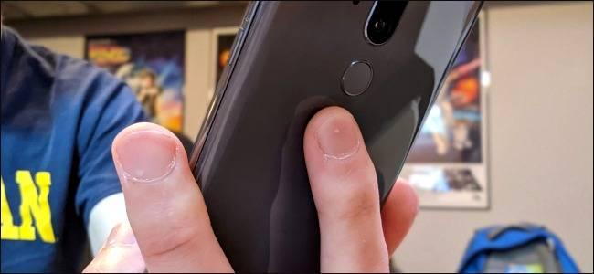 روش اسکرین شات گرفتن گوشی اندروید با تپیدن و ضربه زدن پشت آن