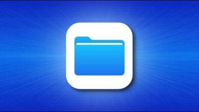 تصویر پیدا کردن فایلهای دانلود شده آیفون و آیپد با استفاده از برنامه Files