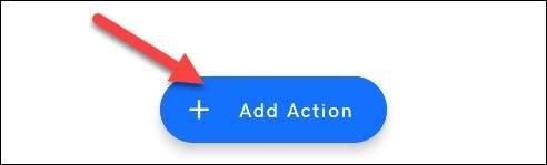 دکمه Add Action برنامه Tap Tap