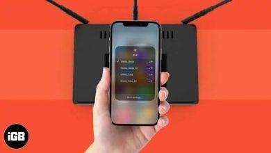 روش تغییر وایفای آیفون از بخش Control Center سیستم عامل iOS