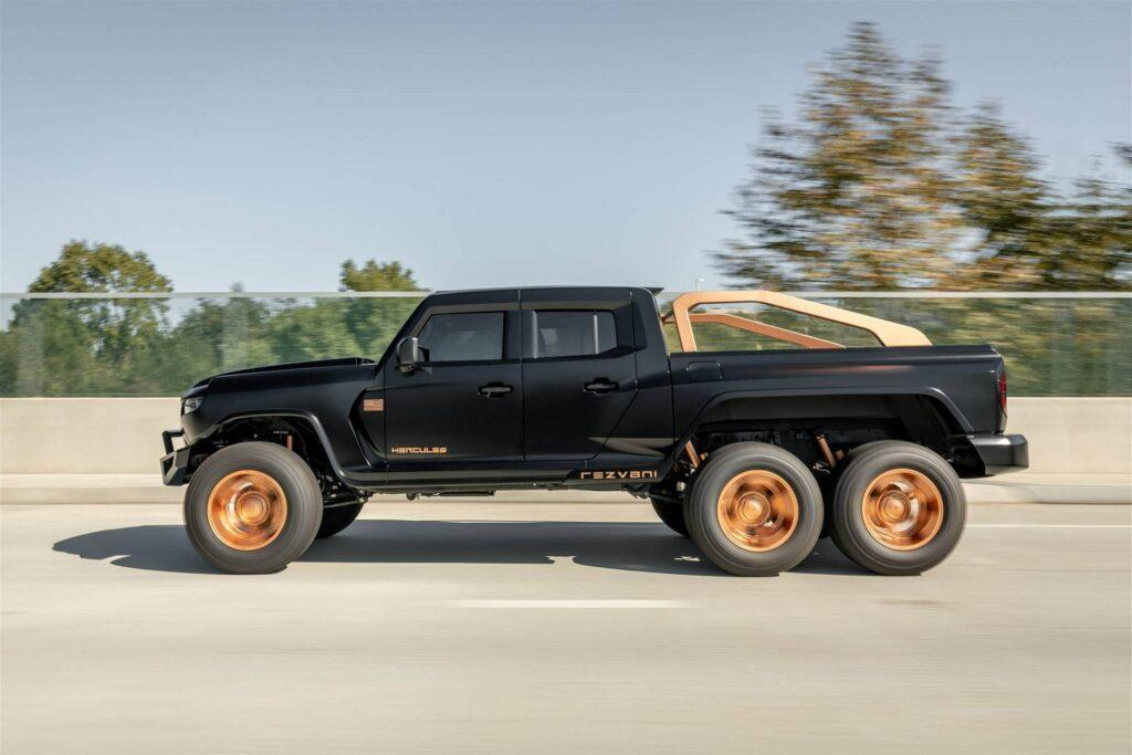 Rezvani Hercules 6×6 Packs Up to a Supercharged V8 Making Over 1,300-Horsepower