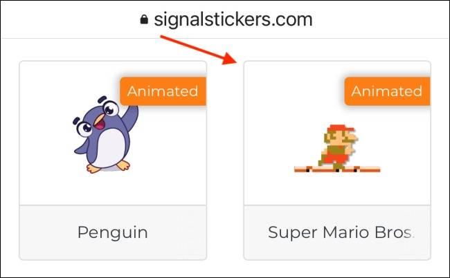 دانلود استیکرهای تازه برای اپلیکیشن Signal