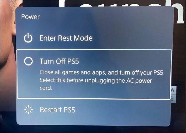 Turn Off PS5 پلی استیشن