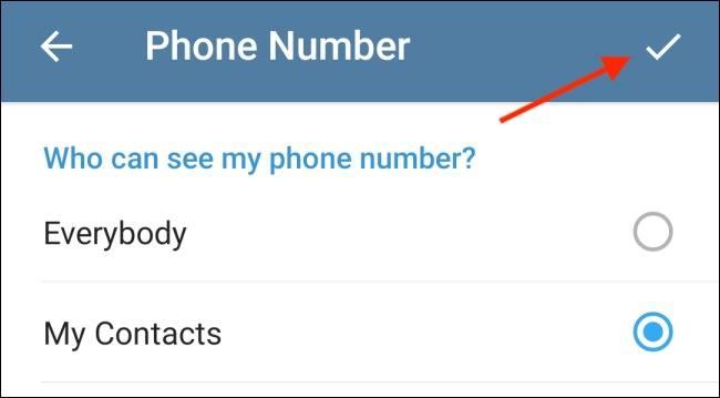 روش پنهان کردن عکس پروفایل تلگرام در گوشی اندروید و آیفون