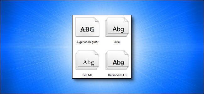 روش نصب و حذف فونت در ویندوز 10 با استفاده از File Explorer