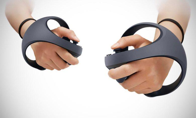 افشای نسل آینده کنترلر VR پلی استیشن 5 سونی