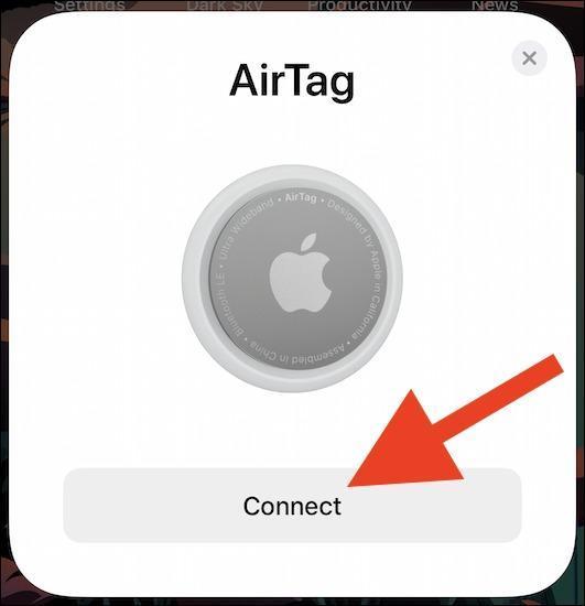 چگونه Airtag را با آیفون یا آیپد خود جفت کنیم؟