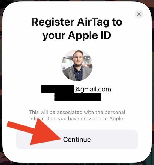 وارد کردن ایمیل و شماره تلفن مربوط به Apple ID