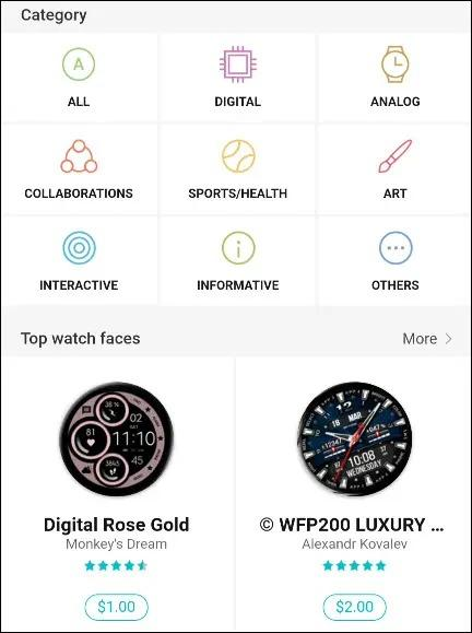 Top Watch Faces