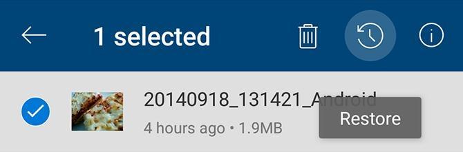 بازیابی فایل های حذف شده از Microsoft OneDrive