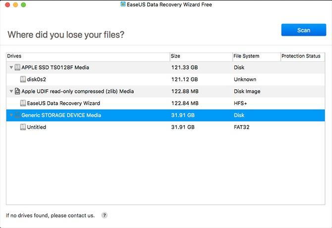 بازیابی تصاویر حذف شده با EaseUS Data Recovery Wizard